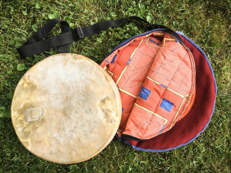 Obal na šamanský buben