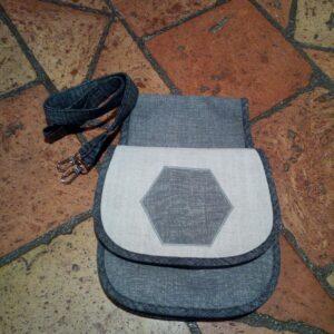 Kabelka - nasouvací kapsa